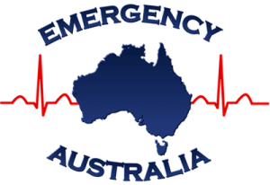 emergency australia map logo transparent