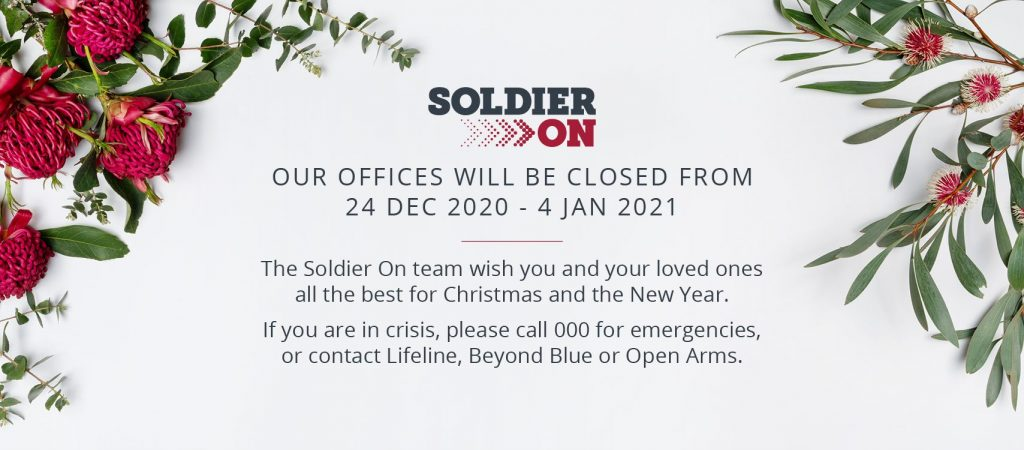 Soldier On office closure