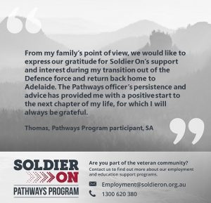 Thomas Pathways quote for SO website