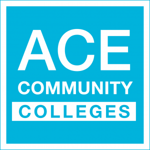 ACE Colleges Logo Blue Fill